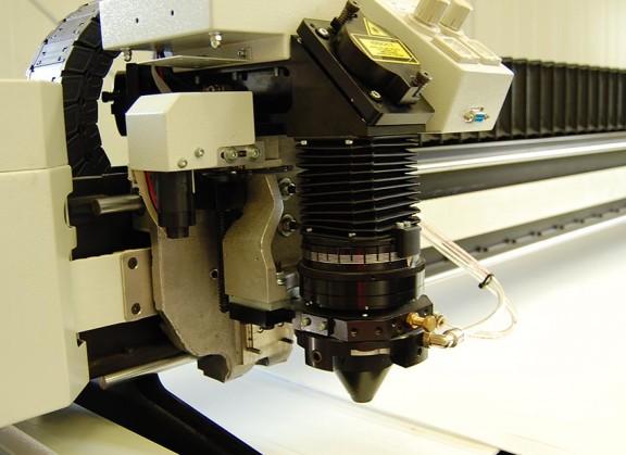 Laser Schneidkopf