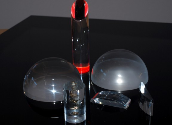 Polierte Acrylteile