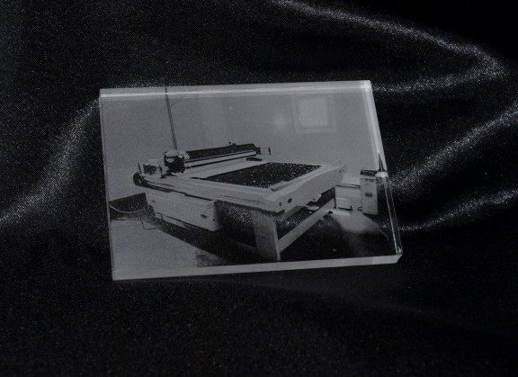 Foto Lasergraviert